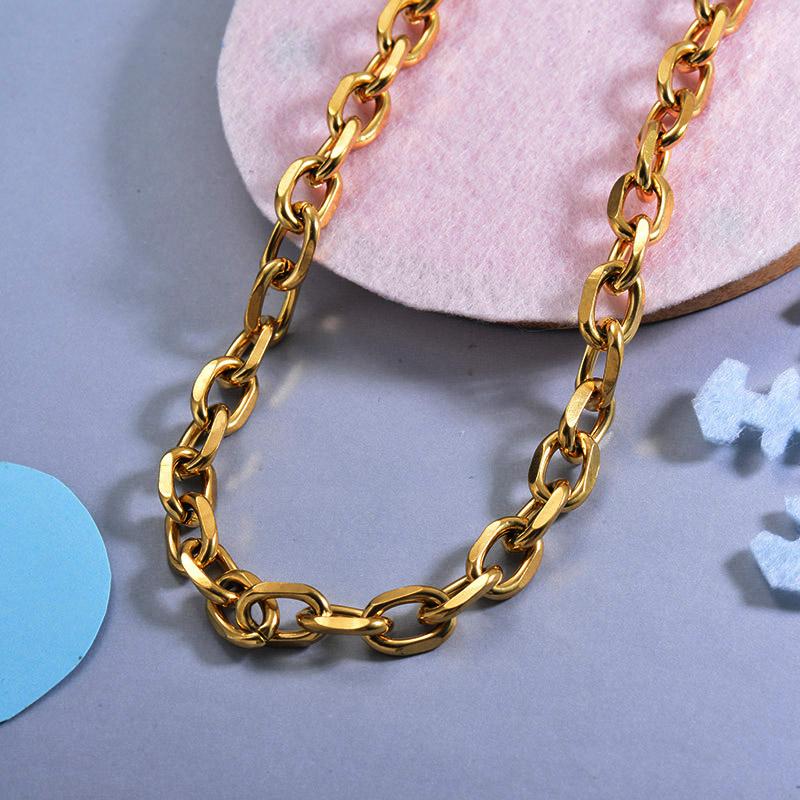 Cadenas de Acero Inoxidable para Mujer -SSNEG143-28740