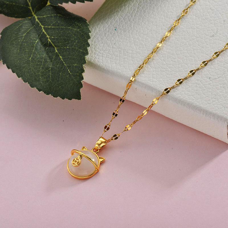 Collares de Acero Inoxidable para Mujer -BRNEG157-28420