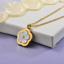 Collares de Acero Inoxidable para Mujer -SSNEG129-28659