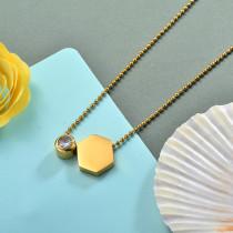Collares de Acero Inoxidable para Mujer -SSNEG142-28177