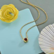 Collares de Acero Inoxidable para Mujer -SSNEG142-28173