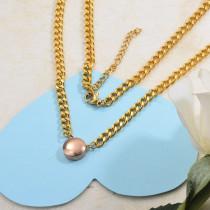 Collares de Acero Inoxidable para Mujer -SSNEG142-28847