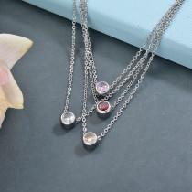 Collares de Acero Inoxidable para Mujer -SSNEG142-28786