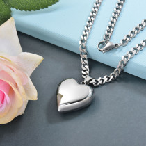 Collares de Acero Inoxidable para Mujer -SSNEG142-28784