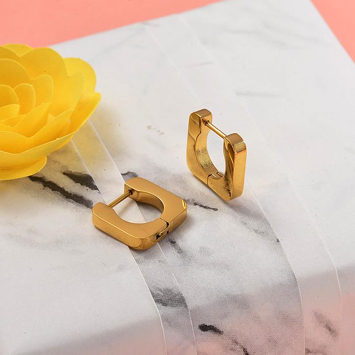 Aretes de Acero Inoxidable para Mujer -SSEGG157-28705