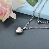 Collares de Acero Inoxidable para Mujer -SSNEG142-28783