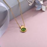 Collares de Acero Inoxidable para Mujer -SSNEG143-28894