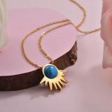 Collares de Acero Inoxidable para Mujer -SSNEG143-28900