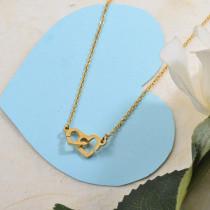 Collares de Acero Inoxidable para Mujer -SSNEG142-28850