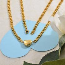 Collares de Acero Inoxidable para Mujer -SSNEG142-28848