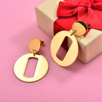 18K Gold Plated Statement Earrings