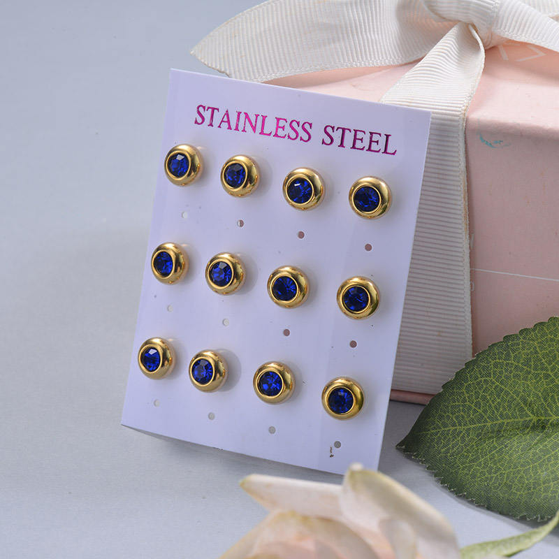 Stainless Steel Earring Sets -SSEGG126-29412