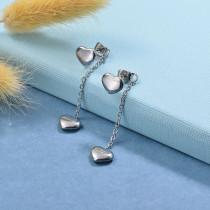 Stainless Steel Drop Earrings -SSEGG126-29437