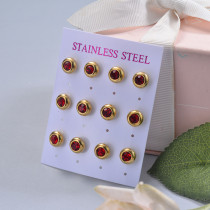 Stainless Steel Earring Sets -SSEGG126-29409