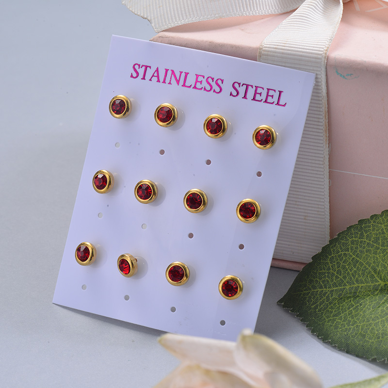 Stainless Steel Earring Sets -SSEGG126-29406