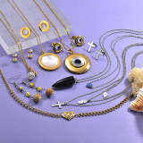 Clearance of Stainless Steel Jewelry In Lots6ANVS-29238