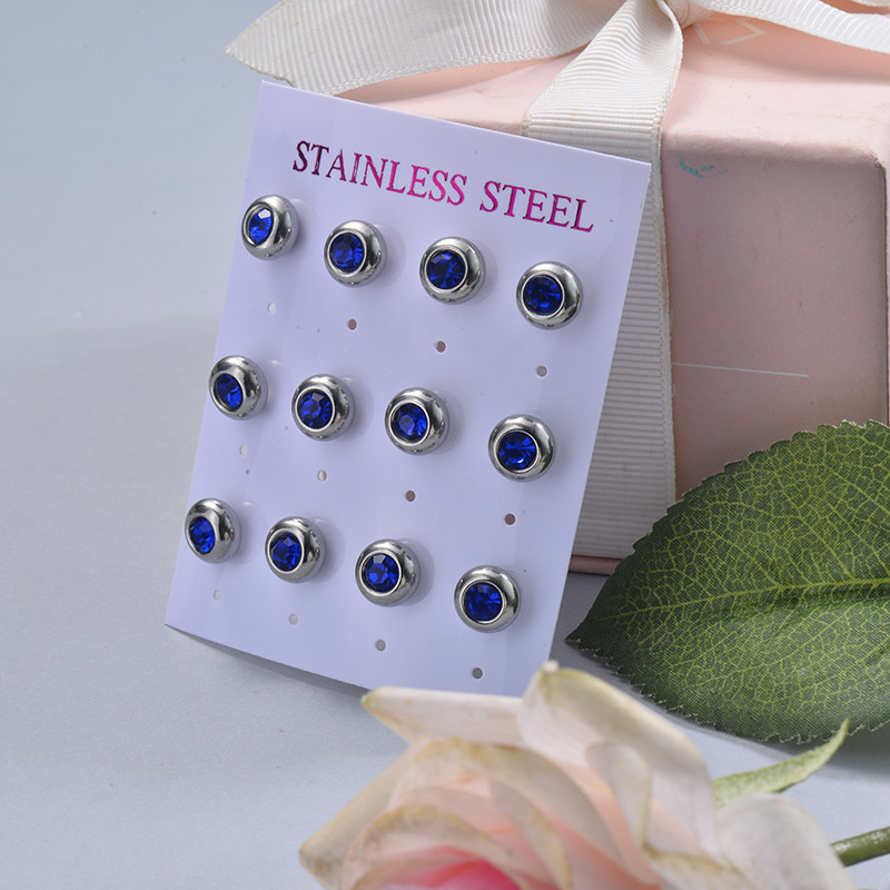 Stainless Steel Earring Sets -SSEGG126-29414