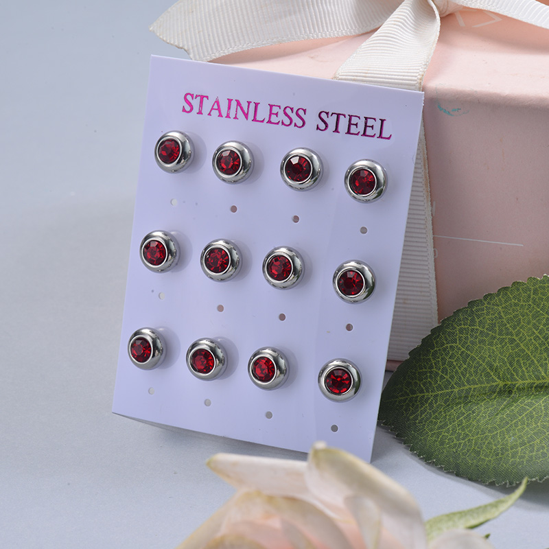 Stainless Steel Earring Sets -SSEGG126-29411