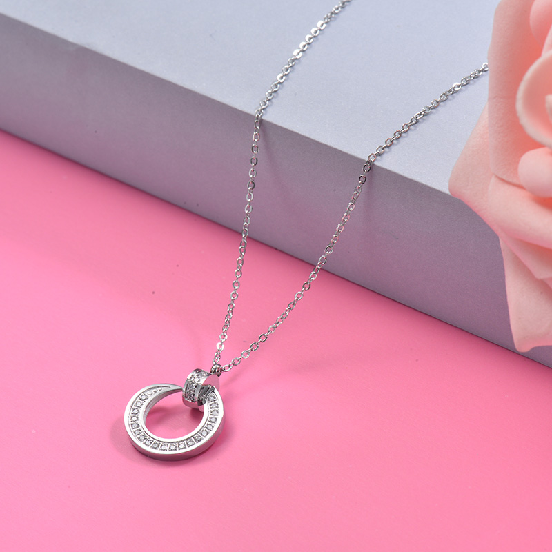Stainless Steel Pendant Necklace -SSNEG40-29519