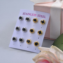 Stainless Steel Earring Sets -SSEGG126-29387