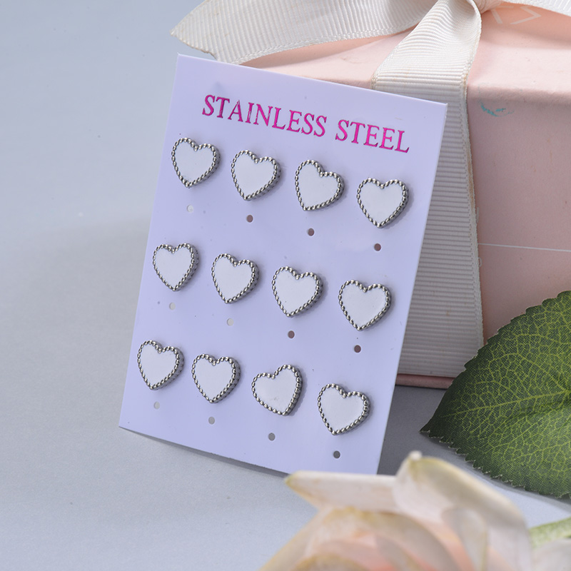 Stainless Steel Earring Sets -SSEGG126-29404