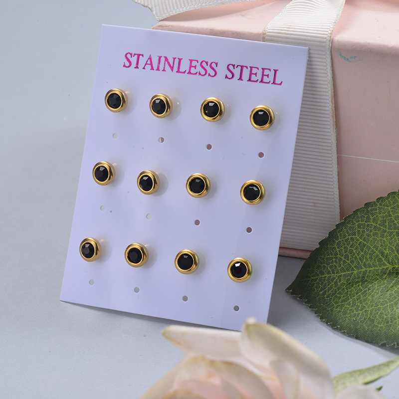 Stainless Steel Earring Sets -SSEGG126-29401