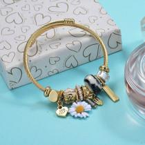 Brass Charm Bangle Bracelets for Women -BRBTG89-29375