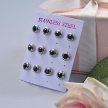 Stainless Steel Earring Sets -SSEGG126-29388