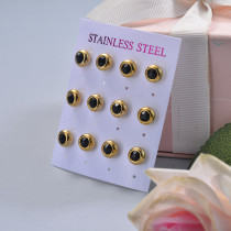 Stainless Steel Earring Sets -SSEGG126-29386