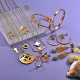 Clearance of Stainless Steel Jewelry In Lots6ANVS-29243