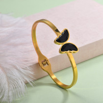 Stainless Steel Butterfly Cuff Bangles -SSBTG143-29254