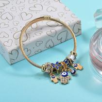 Brass Charm Bangle Bracelets for Women -BRBTG89-29378