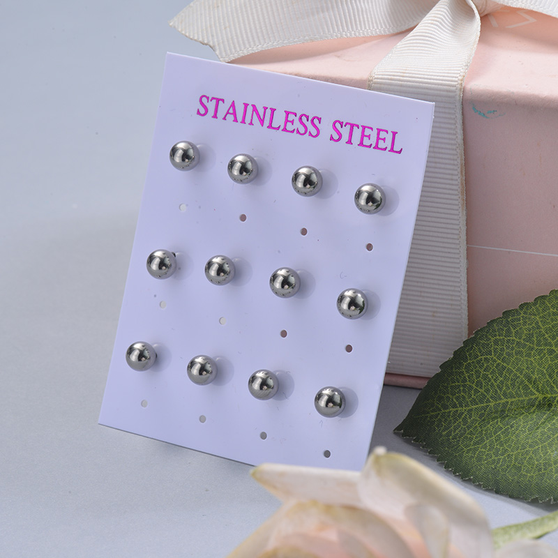 Stainless Steel Earring Sets -SSEGG126-29400