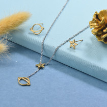 Stainless Steel Silver Jewelry Sets -SSCSG126-29517