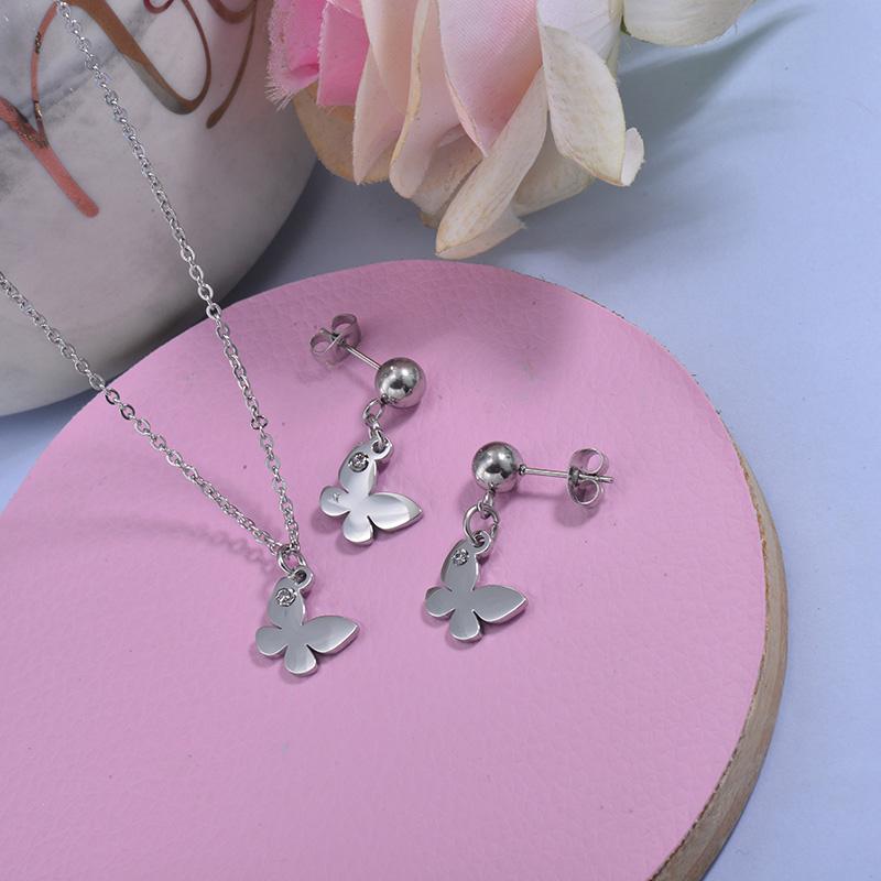 Conjunto de acero inoxidable para Mujer -SSCSG18-29768