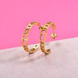 Zarcillos de Acero Inoxidable para Mujer -SSEGG157-29984