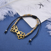 pulseras de bolitas en acero inoxidable -SSBTG95-29801