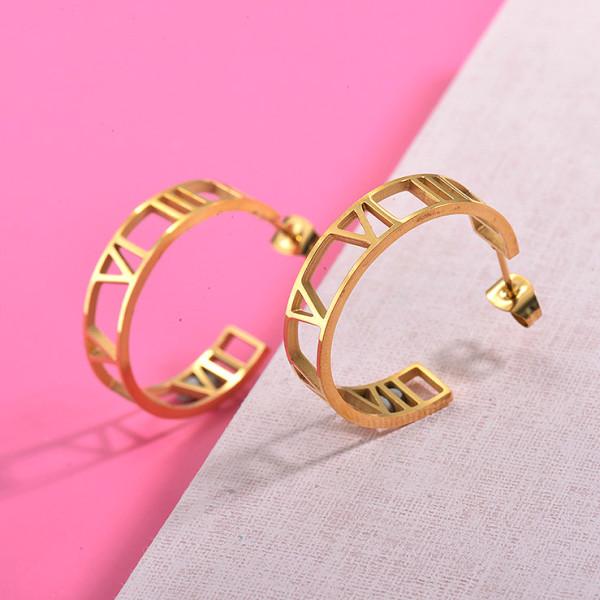 Zarcillos de Acero Inoxidable para Mujer -SSEGG157-29990