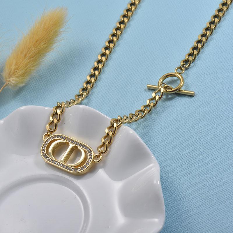 Collares de Acero Inoxidable para Mujer -SSNEG157-30015