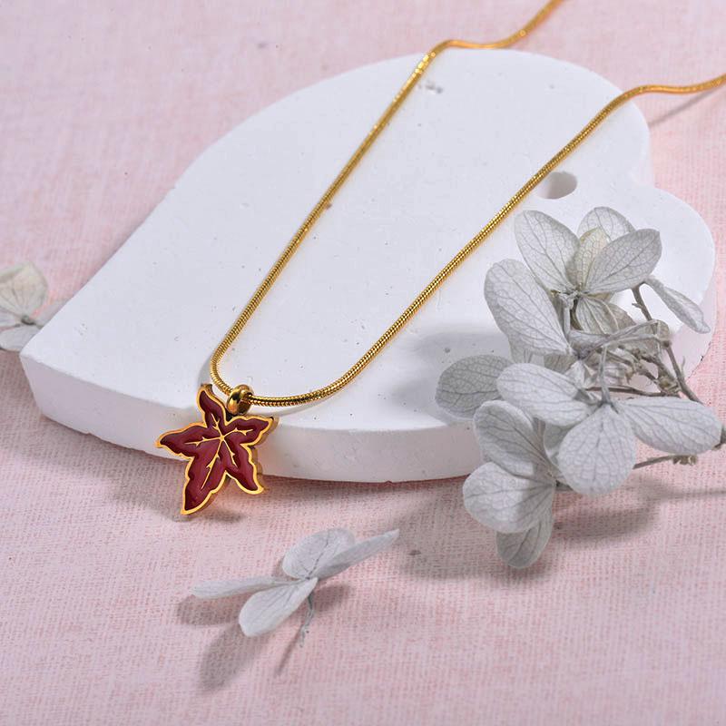 Collares de Acero inoxidable para Mujer -SSNEG157-29935