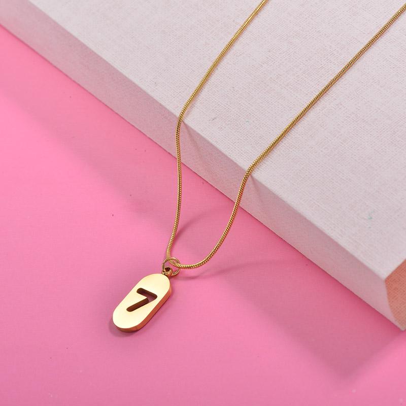 Collares de Acero Inoxidable para Mujer -SSNEG157-29997