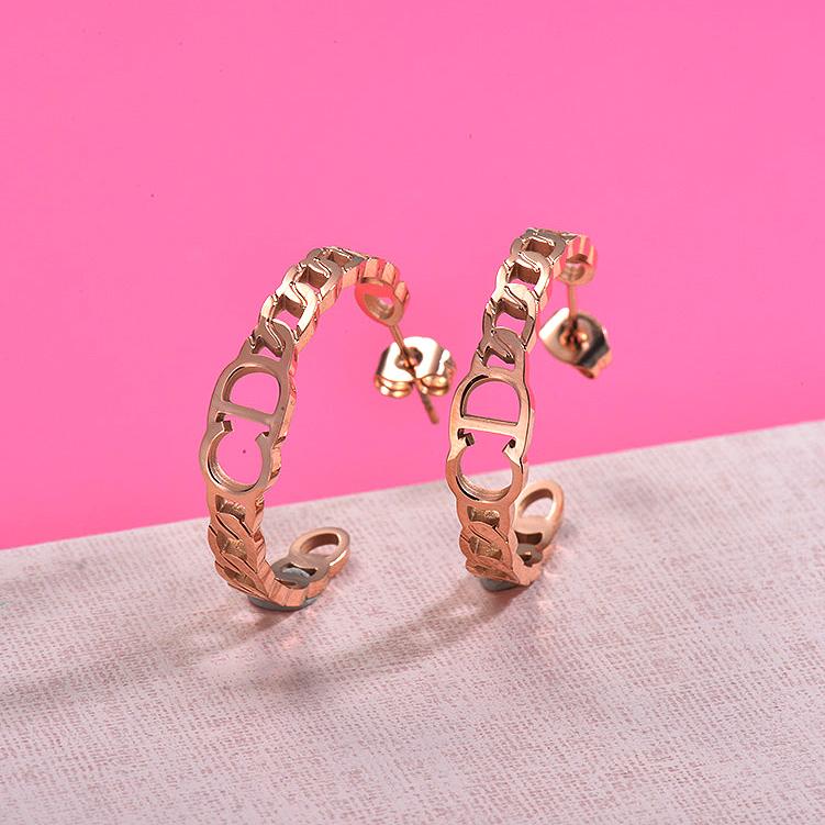 Zarcillos de Acero Inoxidable para Mujer -SSEGG157-29983