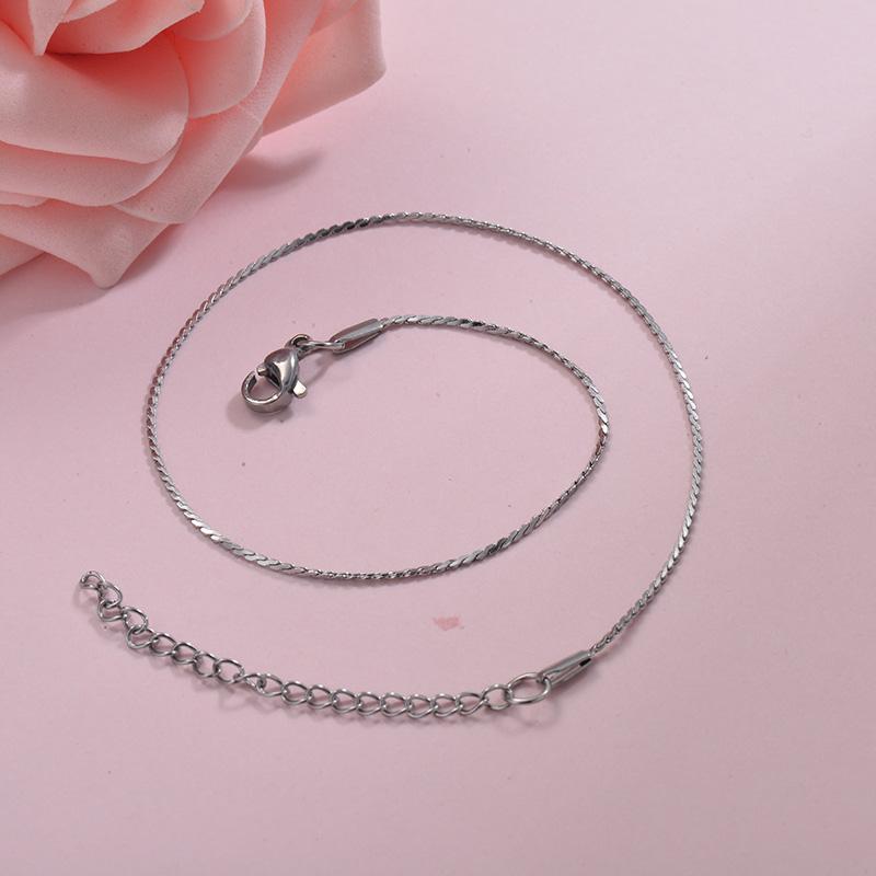 Tobilleras de acero inoxidable para Mujer -SSTDG200-29950