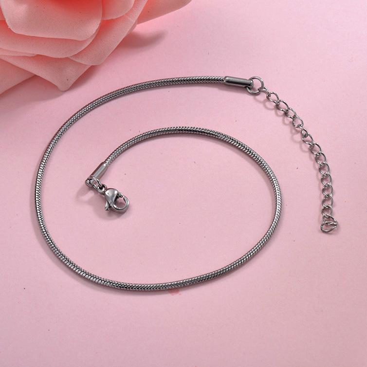 Tobilleras de acero inoxidable para Mujer -SSTDG200-29952
