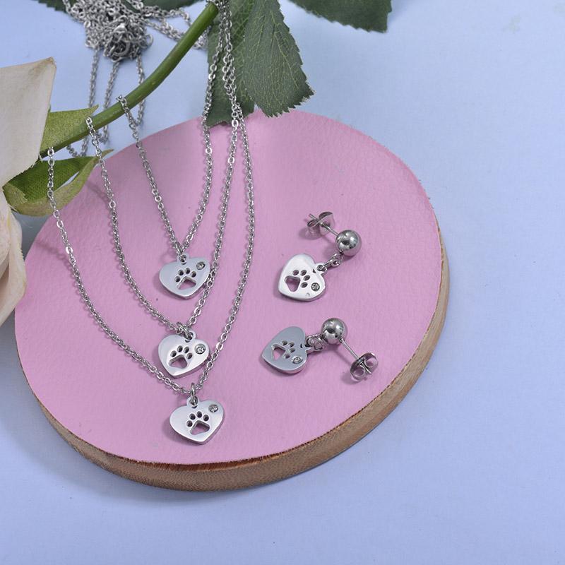 Conjunto de acero inoxidable para Mujer -SSCSG18-29787