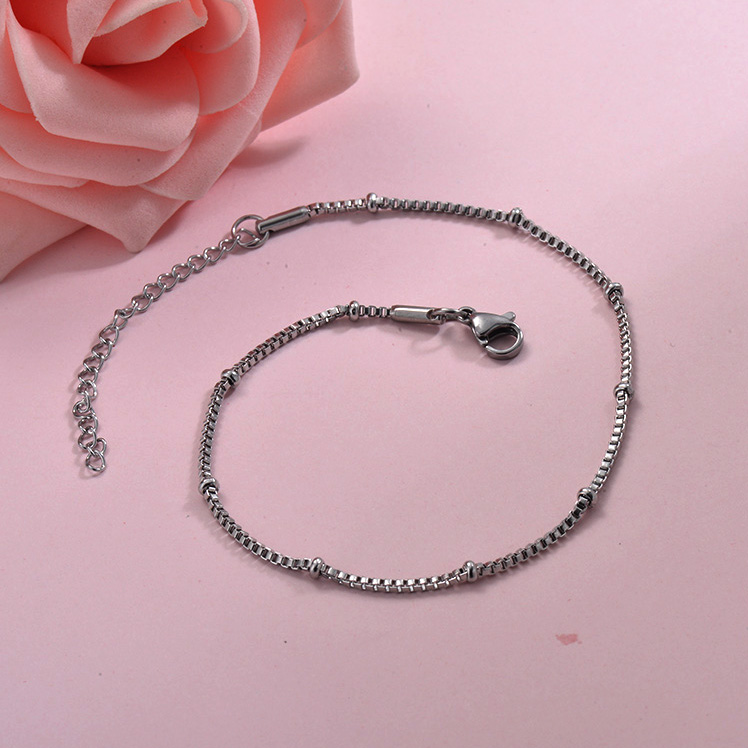 Tobilleras de acero inoxidable para Mujer -SSTDG200-29951