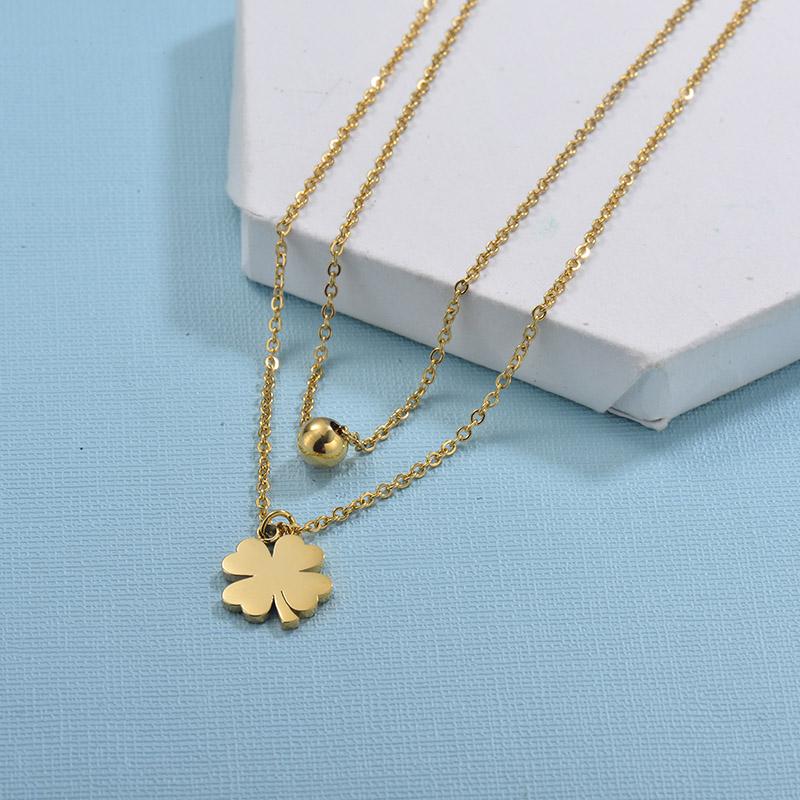 Collares de Acero Inoxidable para Mujer -SSNEG18-29730