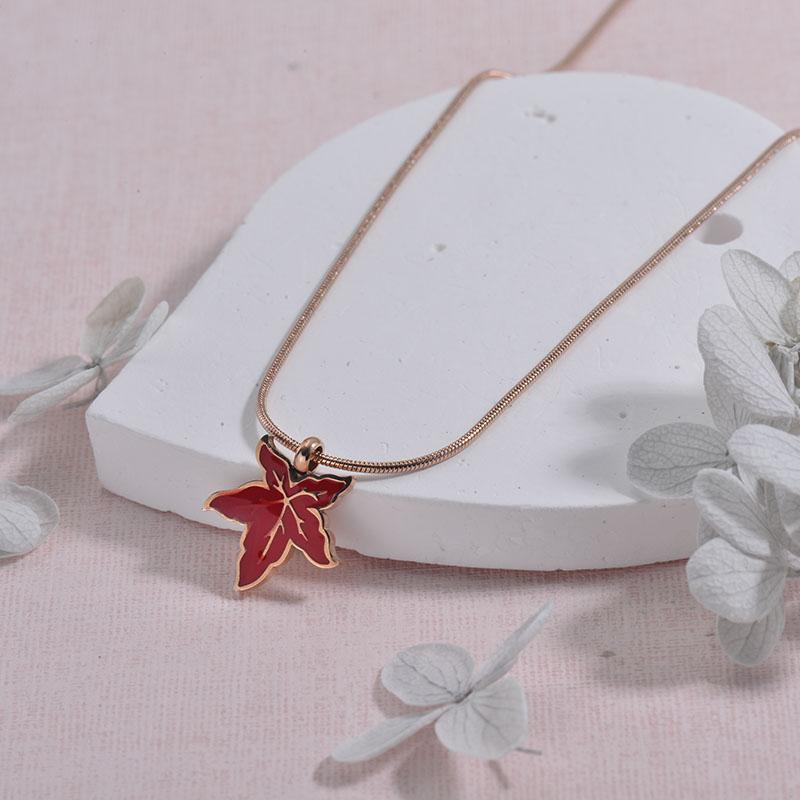 Collares de Acero inoxidable para Mujer -SSNEG157-29927