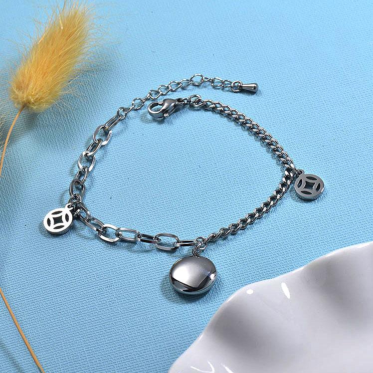 Pulseras de acero inoxidable para Mujer -SSBTG157-30025