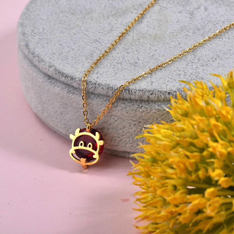 Collares de Acero inoxidable para Mujer -SSNEG157-29880